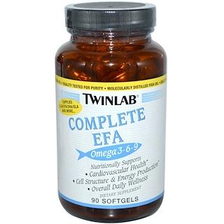 Twinlab, Complete EFA Omega 3-6-9, 90 Softgels