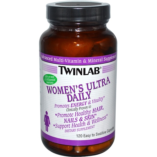 Twinlab, Women's Ultra Daily, 120 Capsules (Discontinued Item)