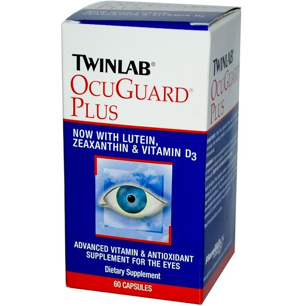 Twinlab, OcuGuard Plus, 60 Capsules (Discontinued Item)