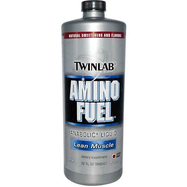 Twinlab, Amino Fuel, Lean Muscle, Cherry BMB, 32 fl oz (948 ml) (Discontinued Item)