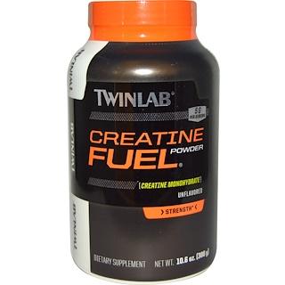 Twinlab, Creatine Fuel Powder, Unflavored, 5 g, 10.6 oz (300 g)