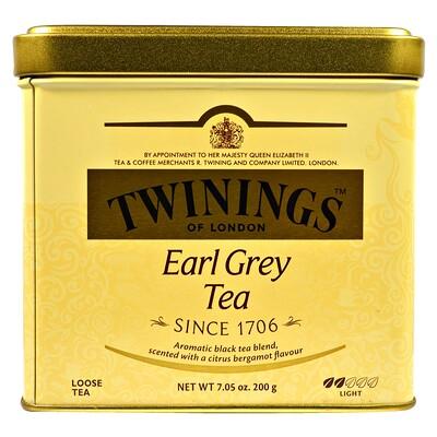 Листовой чай Earl Grey, легкий, 7.05 унций (200 г) чай листовой gutenberg чай персиковый