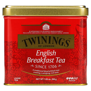 Twinings, English Breakfast Loose Tea, 7.05 oz (200 g)