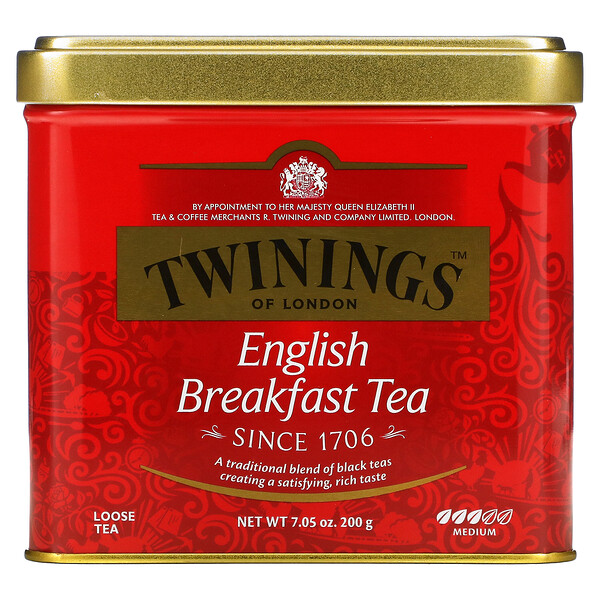 Twinings, Classics, English Breakfast Loose Tea, 7.05 oz (200 g)