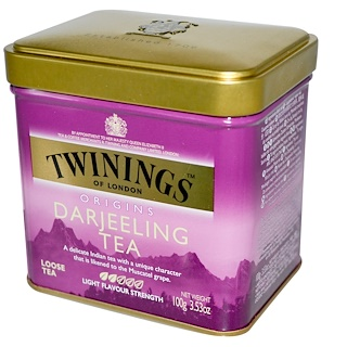 Twinings, Origins, Darjeeling Loose Tea, 3.53 oz (100 g)