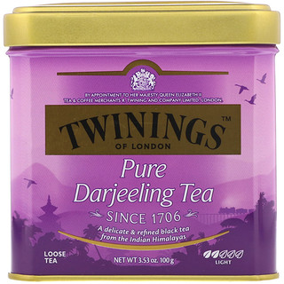 Twinings, Pure Darjeeling Tea, 3.53 oz (100 g)