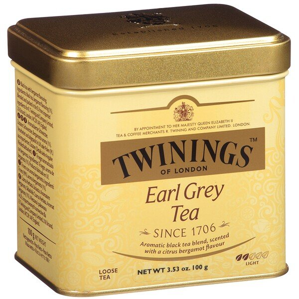 Earl Grey Loose Tea, 3.53 oz (100 g)