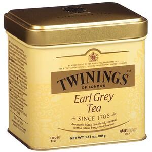 Твайнингс, Earl Grey Loose Tea, 3.53 oz (100 g) отзывы покупателей