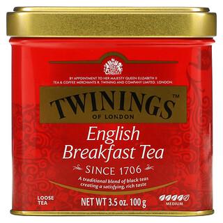 Twinings, 英式早餐散茶,3.5 盎司(100 克)