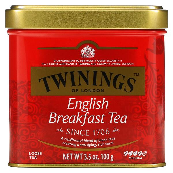 クラッシック、イングリッシュブレックファスト茶葉、100g(3.53オンス)