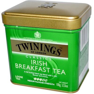 Классический листовой чай, Irish Breakfast, 3,53 унции (100 г) чай листовой gutenberg чай персиковый