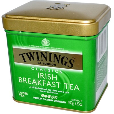 Classics, листовой чай Irish Breakfast, 100 г (3,53 унции) цена 2017