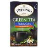 Twinings, Green Tea, Nightly Calm, Naturally Decaffeinated, 20 Tea Bags, 1.41 oz (40 g)