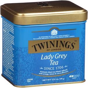 Твайнингс, Lady Grey Loose Tea, 3.53 oz (100 g) отзывы покупателей