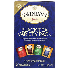 Twinings, 經典紅茶組合,20包,1.41盎司(40克)