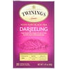 Twinings, 100% Pure Black Tea, Darjeeling, 20 Individual Tea Bags, 1.41 oz (40 g)