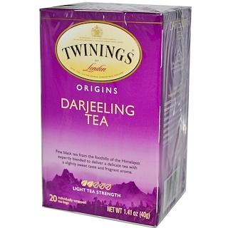 Twinings, Origins, Darjeeling Tea, 20 Tea Bags, 1.41 oz (40 g)