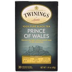 Twinings, Prince of Wales Tea, 20 Tea Bags, 1.41 oz (40 g)