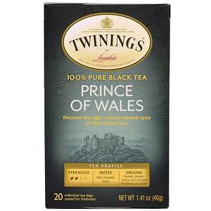 Твайнингс, Prince of Wales Tea, 20 Tea Bags, 1.41 oz (40 g) отзывы