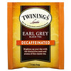 Twinings, Earl Grey Black Tea, Decaffeinated, 20 Tea Bags, 1.23 oz (35 g)