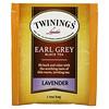 Twinings, Black Tea, Earl Grey, Lavender, 20 Tea Bags, 1.41 oz (40 g)