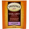 Twinings, Black Tea, Earl Grey, Lavender, 20 Tea Bags - 1.41 oz (40 g)