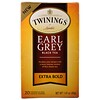 Twinings, Black Tea, Earl Grey, Extra Bold, 20 Tea Bags - 1.41 oz (40 g)