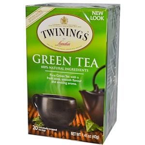 Твайнингс, Green Tea, 20 Tea Bags, 1.41 oz (40 g) отзывы