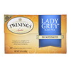 Twinings, Lady Grey Black Tea, Decaffeinated, 20 Tea Bags, 1.41 oz (40 g)
