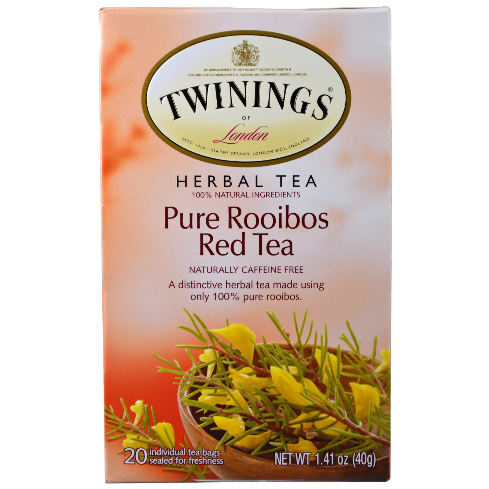 Is rooibos caffeinated