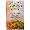 Twinings, Herbal Tea, Pure Rooibos Red Tea, Caffeine Free, 20 Tea Bags, 1.41 oz (40 g)
