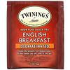 Twinings, English Breakfast, Decaffeinated,  50 Tea Bags, 3.53 oz (100 g)