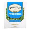 Twinings, Probiotics Herbal Tea, Peppermint & Fennel, Caffeine-Free, 18 Tea Bags, 1.27 oz (36 g)