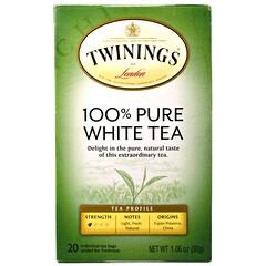 Twinings, 全純白茶,20 茶包,每包 1.06 盎司(30 克)
