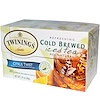 Twinings, Cold Brewed Iced Tea, Citrus Twist, 20 Tea Bags, 1.41 oz (40 g)