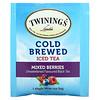Twinings, شاي مثلج ومخمر على البارد، شاي أسود منكه غير محلى، مزيج من التوت، 20 كيس شاي فردي، 1.41 أونصة (40 جم)
