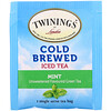 Twinings, Cold Brewed Iced Tea, Green Tea with Mint, 20 Tea Bags, 1.41 oz (40 g)