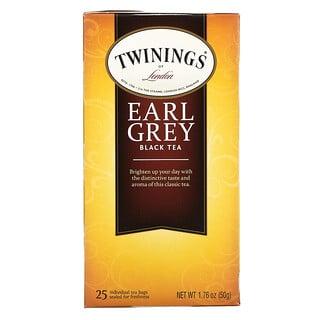 Twinings, 经典伯爵茶,25茶包,1.76盎司(50克)