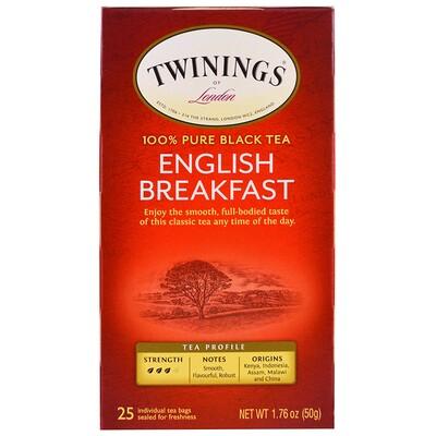 """Чай """"Английский завтрак"""", 25 пакетиков, 50 г (1.76 oz)"""