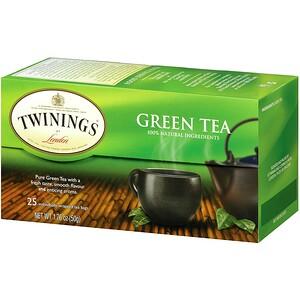 Твайнингс, Green Tea, 25 Tea Bags, 1.76 oz (50 g) отзывы