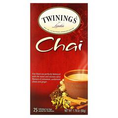 Twinings, 印度茶,25 茶包,1.76 盎司(50 克)