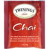 Twinings, Chai Tea, 25 Tea Bags, 1.76 oz (50 g)