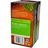Twinings, 100% 유기농 녹차, 퓨어 그린, 20 티백, 1.27 온스 (36g)