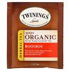 Twinings, 100% Organic & Fair Trade Certified Herbal Tea, 100% Bio & Fair Trade Certified Kräutertee, Rooibos, 20 Teebeutel, 36 g (1,27 oz.)