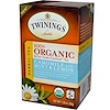 Twinings, Organic & Fair Trade Certified Tea, Camomile with Mint & Lemon, 20 Tea Bags, 1.20 oz (34 g)