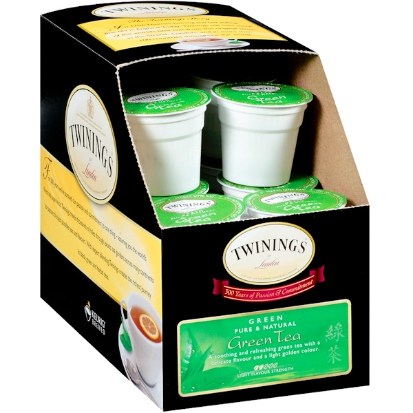 Twinings, Green Tea, 24 Cups, 0.11 oz (3.0 g) Each (Discontinued Item)