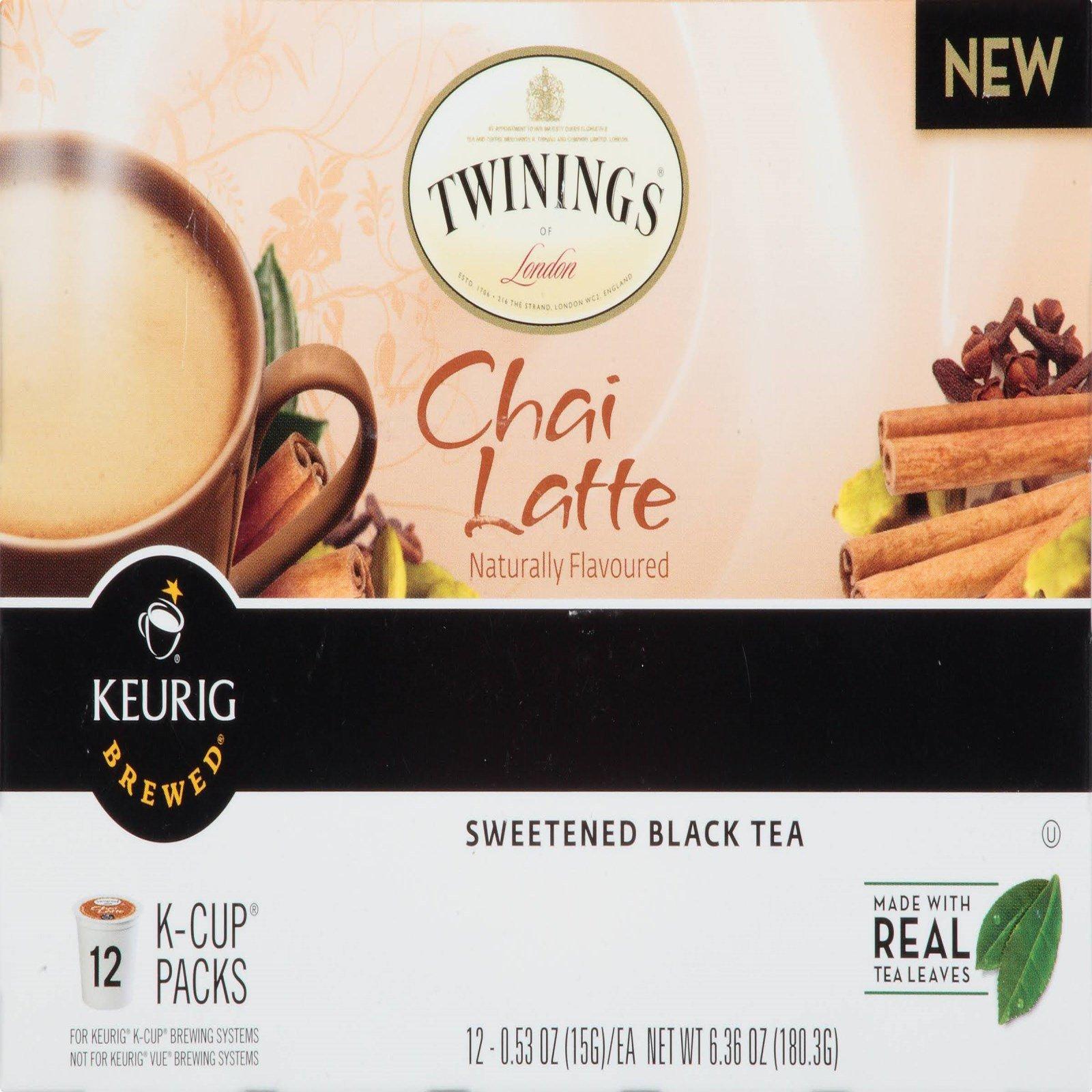 Twinings, Chai Latte, Sweetened Black
