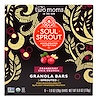 Two Moms in the Raw, Soul Sprout, Granola Bars, Cranberry Chia Crunch, 6 Bars, 1 oz (28 g) Each