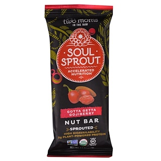 Two Moms in the Raw, Soul Sprout, Gotta Getta Gojiberry Nut Bar, 1.5 oz (43 g)