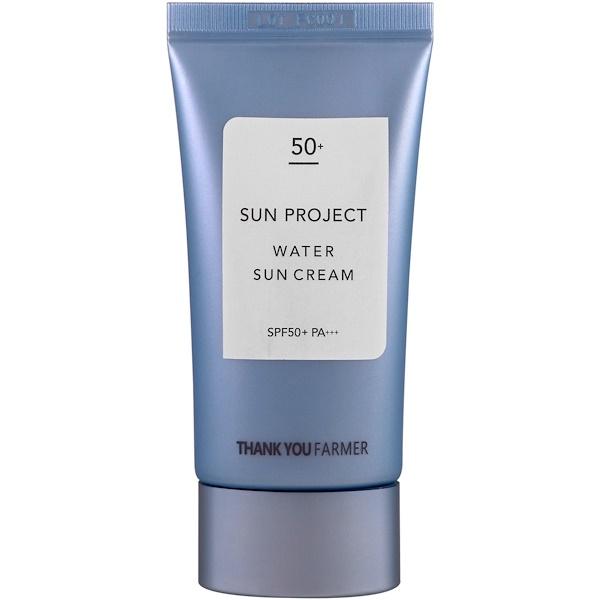 Thank You Farmer, Sun Project, crème solaire à l'eau, SPF 50+ , 1,75 fl oz (50 ml) (Discontinued Item)